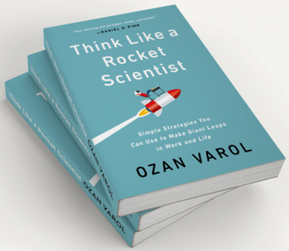 """Think Like a Rocket Scientist: Simple Strategies You Can Use to Make Giant Leaps in Work and Life"" sales gift ideas"